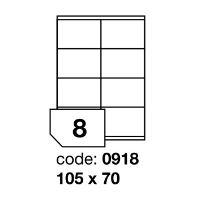 Samolepící etikety Rayfilm Office 105x70 mm 100 archů R0100.0918A