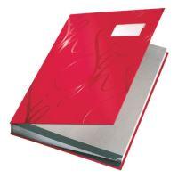 Podpisová kniha designová Leitz, červená