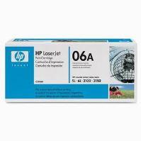 Toner HP C3906A, black, originál 2