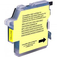 Kompatibilní cartridge Brother LC-980Y, DCP 145C, DCP165C, yellow, UPrint