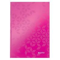 Zápisník Leitz WOW A5, linkovaný, růžový
