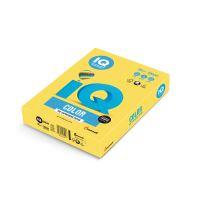Barevný papír IQ CY 39 A4 160g žlutá 1bal/250ks