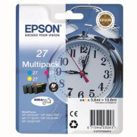 Cartridge Epson C13T27054012, CMY, 27, originál