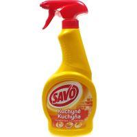 Savo Kuchyně tekutý čistič na mastnou špínu rozprašovač 500 ml
