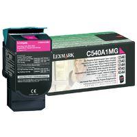 Toner Lexmark C540, 0C540A1MG, magenta, originál