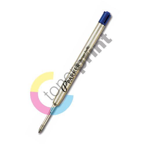 Náplň pro kuličková pera Parker, 0,8(F) modrá 1