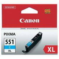 Cartridge Canon CLI-551C XL, cyan, 6444B001, originál