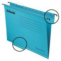 Závěsná registrační karta Esselte Pendaflex A4, modrá 1bal/25ks