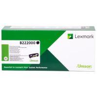 Toner Lexmark B222000, black, originál