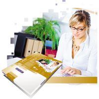 Samolepící etikety Rayfilm Office 210x297 mm 100 archů, fluo žlutá, R0131.1123A 2