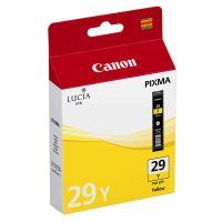 Cartridge Canon PGI-29Y, 4875B001, yellow, originál