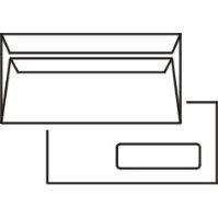 Poštovní obálka DL okénko samolepící/cena za 1000 ks