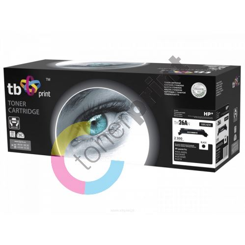 TB toner kompatibilní s HP CF226A, Black, 2300, new 1