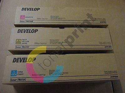 Toner Develop TN616Y, A1U92D0, yellow, originál 1