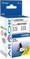 Kompatibilní cartridge Brother LC1240/1280BK UNI Armor, černá