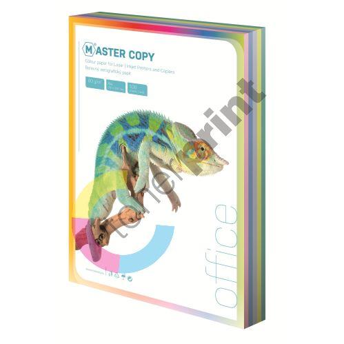 Barevný papír Master Copy pastelová duha, 5 barev A4, 500 listů 1