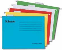 Závěsná registrační karta Esselte Pendaflex A4, šedozelená 1bal/25ks