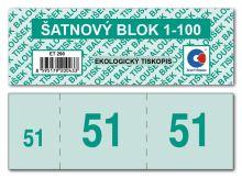 Šatnové bloky ET290, 1-100 čísel 3