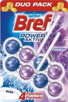 Bref Power Aktiv 4 Formula Lavender Wc blok 2 x 50 g