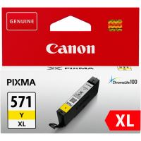 Cartridge Canon CLI-571Y XL, 0334C001, yellow, originál