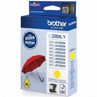 Cartridge Brother LC-225XLY, yellow, originál