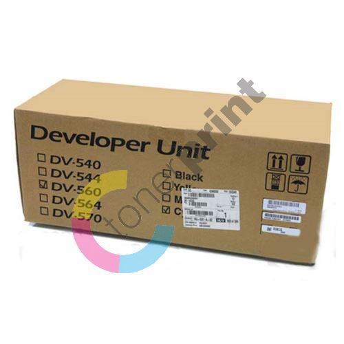 Developer Kyocera DV-560C, cyan, originál 1