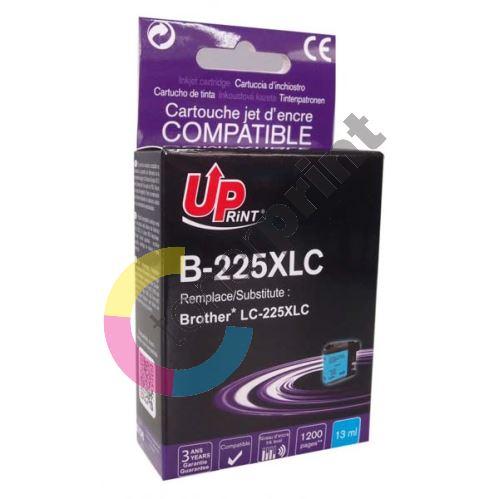 Cartridge Brother LC-225XLC, cyan, UPrint 1