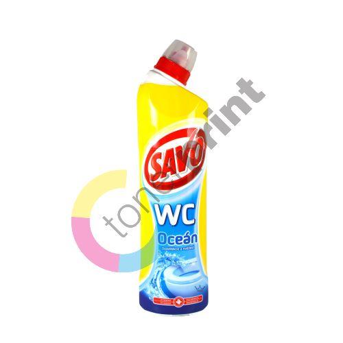 Savo Oceán Wc tekutý čistící a dezinfekční přípravek 750 ml 1