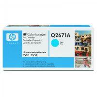Toner HP Q2671A modrá originál 5