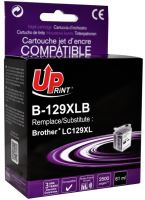 Cartridge Brother LC-129XLBK, black, UPrint