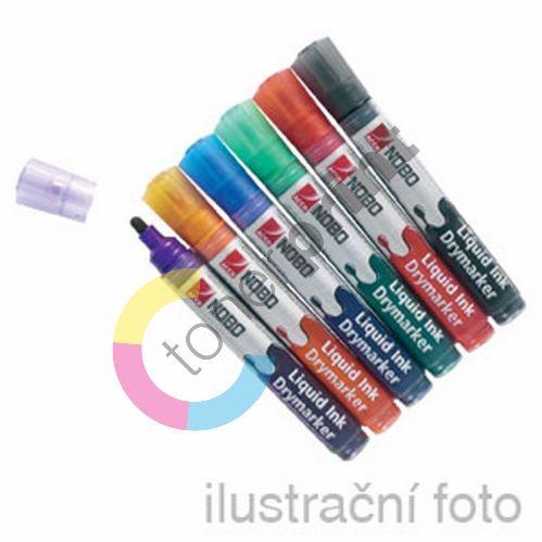 Popisovač na bílé tabule 3-in-1 Nobo LIQUID INK 1