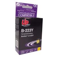 Cartridge Brother LC-223Y, yellow, UPrint