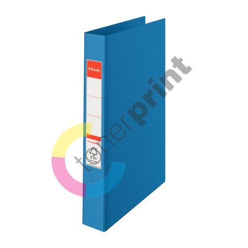 Dvoukroužkový pořadač Esselte, 35 mm, modrý 2