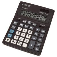 Kalkulačka Citizen CDB1401-BK, černá, stolní, čtrnáctimístná