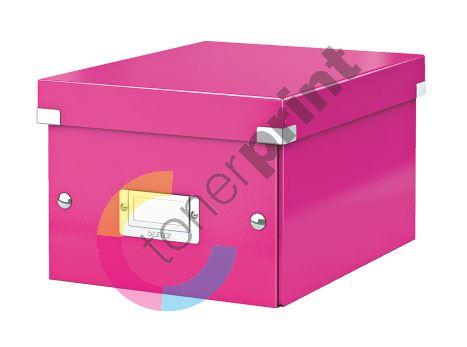 Archivační krabice Leitz Click-N-Store S (A5) wow, růžová 1