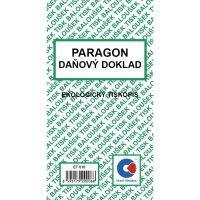 Paragon daňový doklad A6 ET-010/ 50 listů jeden blok 1
