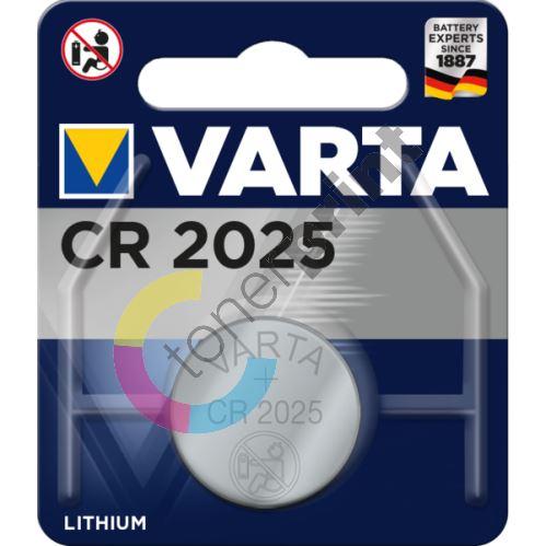Baterie Varta CR 2025, 3V 1