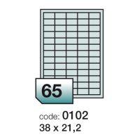 Samolepící etikety Rayfilm Everyday 38x21,2 mm 100 archů R0ECO.0102A 1