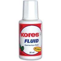 Korekční lak Kores Fluid se štětečkem, 20ml