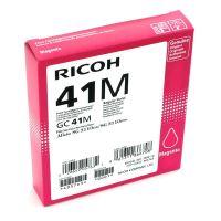 Gelová náplň Ricoh GC41M, 405763, magenta, originál