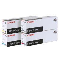 Toner Canon CEXV17 červený  originál