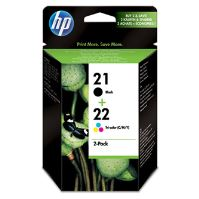 Cartridge HP SD367AE, C9351AE + C9352AE No. 21, No. 22, 2-Pack, originál