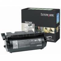 Toner Lexmark T630 12A7468, renovace