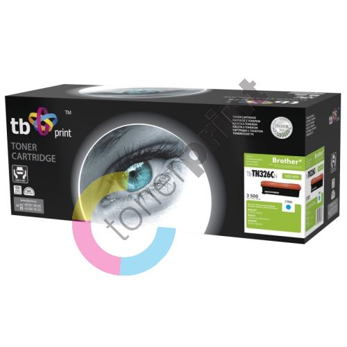 TB toner kompatibilní s Brother TN326C 100% new 1