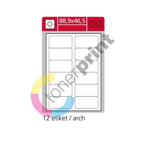 Samolepící etikety SK LABEL A4 88,9 x 46,5 mm 1