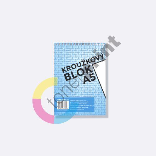 Bobo kroužkový blok A5, horní spirála 50 listů, čistý 1