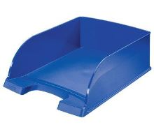Odkladač Leitz Jumbo Plus, modrý