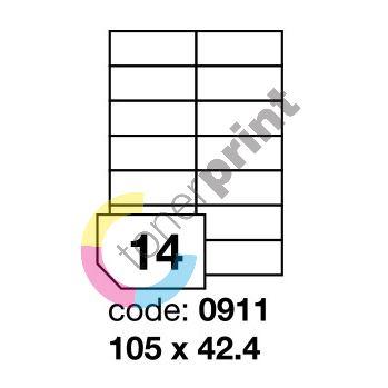Samolepící etikety Rayfilm Office 105x42,4 mm 100 archů R0100.0911A 1