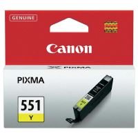 Cartridge Canon CLI-551Y, yellow, 6511B001, originál