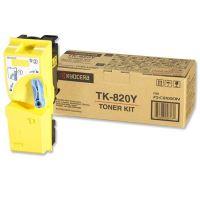 Toner Kyocera Mita TK820Y yellow, originál
